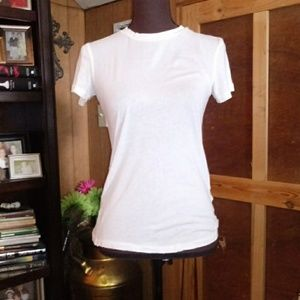 Zara Trafaluc Off White Tee Shirt